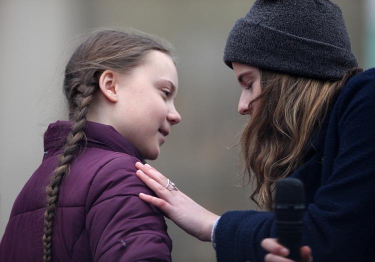 Greta Thunberg und Luisa Neubauer, über dts Nachrichtenagentur