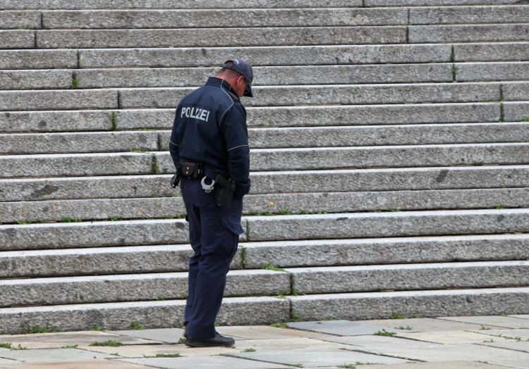 Polizei vor dem Bundestag, über dts Nachrichtenagentur