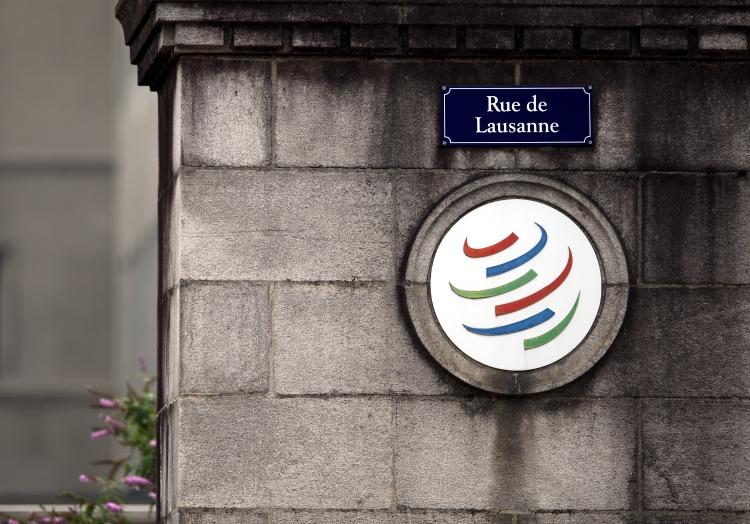 World Trade Organization WTO in Genf, über dts Nachrichtenagentur