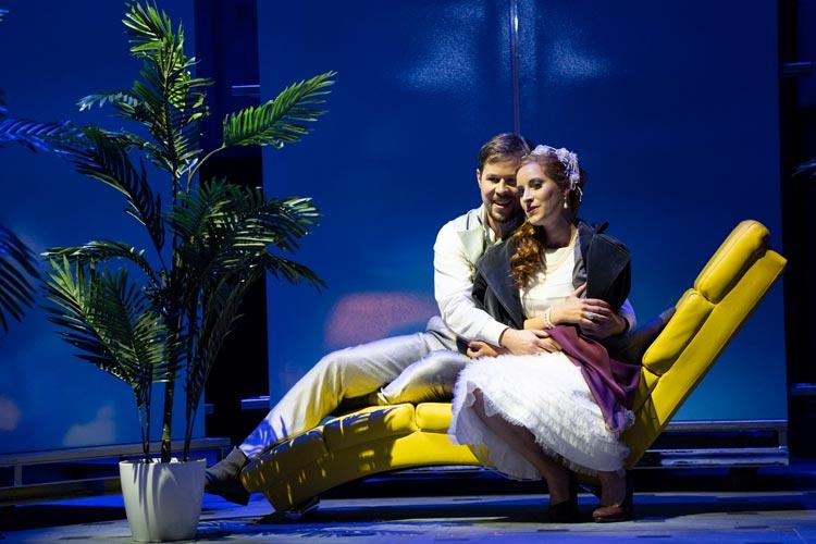 """Die Oper """"Don Pasquale"""" feiert am kommenden Sonnabend Premiere. Die Produktion ist ein Pilotprojekt in Corona-Zeiten."""