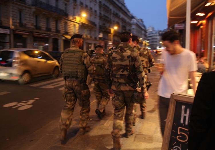 Militärpolizei in Paris, über dts Nachrichtenagentur