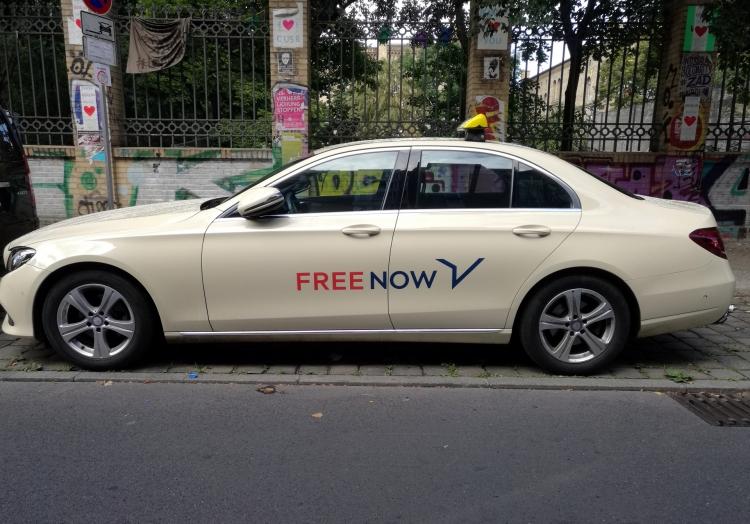 Free-Now-Taxi, über dts Nachrichtenagentur