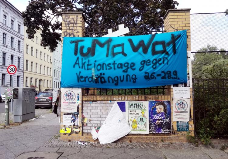 Protest gegen Immobilienmarkt, über dts Nachrichtenagentur