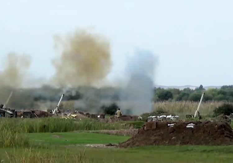 Gefechte um Bergkarabach, Azerbaycan Respublikasinin Müdafie Nazirliyi, über dts Nachrichtenagentur