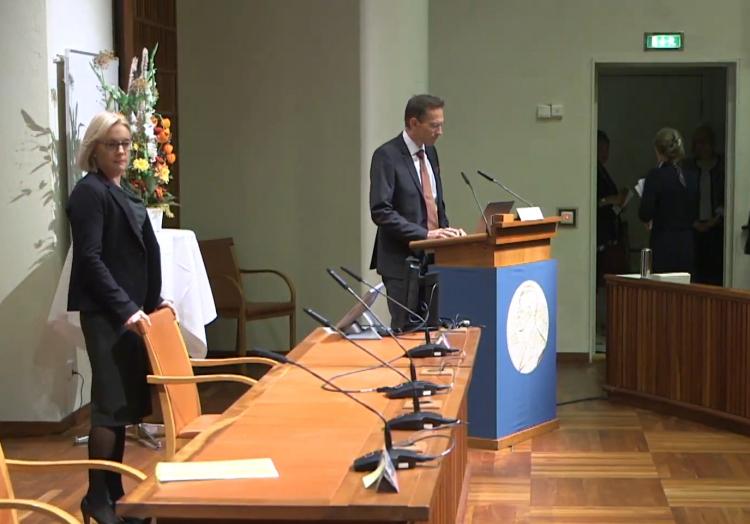 Bekanntgabe Medizin-Nobelpreis am 05.10.2020, über dts Nachrichtenagentur