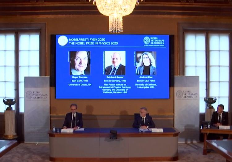 Bekanntgabe Physik-Nobelpreis am 06.10.2020, über dts Nachrichtenagentur