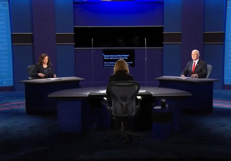 TV-Duell zwischen Harris und Pence, über dts Nachrichtenagentur