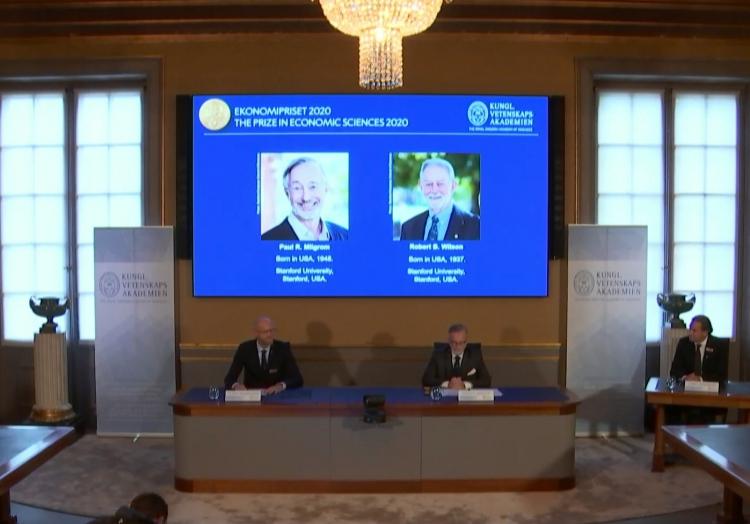 Bekanntgabe Wirtschaftsnobelpreis am 12.10.2020, über dts Nachrichtenagentur
