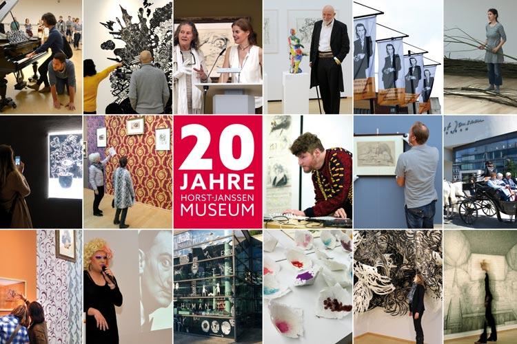 Das Horst-Janssen-Museum in Oldenburg feiert sein 20-jähriges Bestehen.