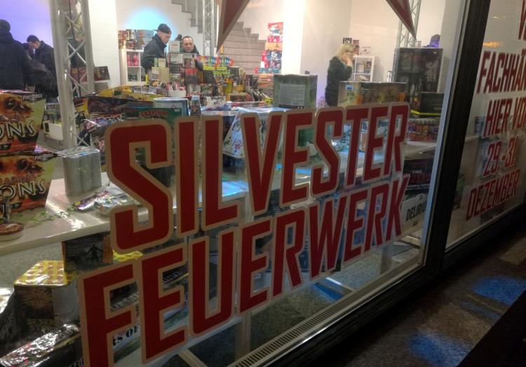 Verkauf von Silvester-Feuerwerk, über dts Nachrichtenagentur