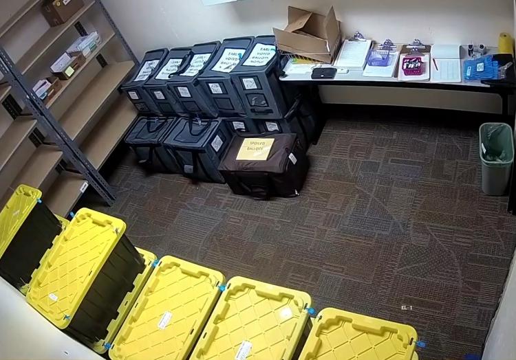Lagerung von Stimmzetteln nach US-Wahl 2020, über dts Nachrichtenagentur