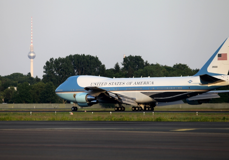 Die ´Air Force One´ in Berlin, über dts Nachrichtenagentur