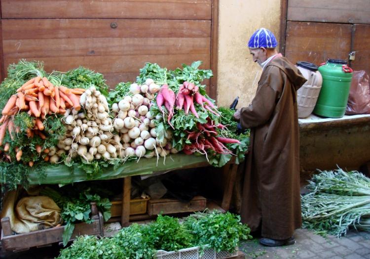 Gemüsehändler in Marokko, über dts Nachrichtenagentur