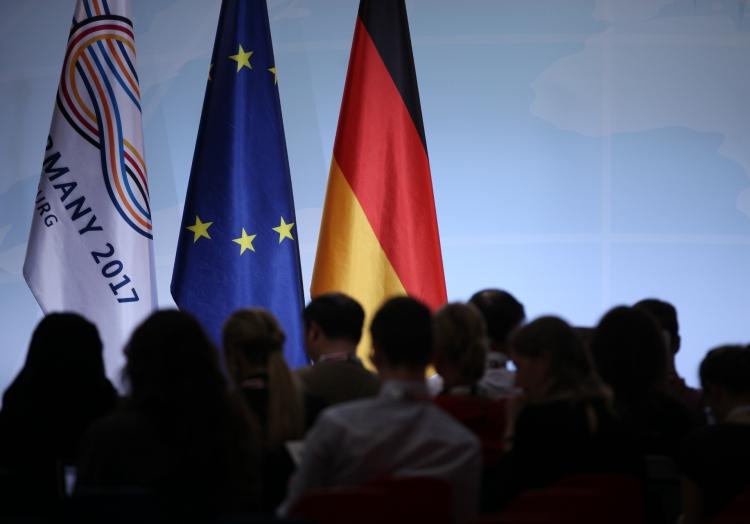 Journalisten bei G20-Gipfel, über dts Nachrichtenagentur