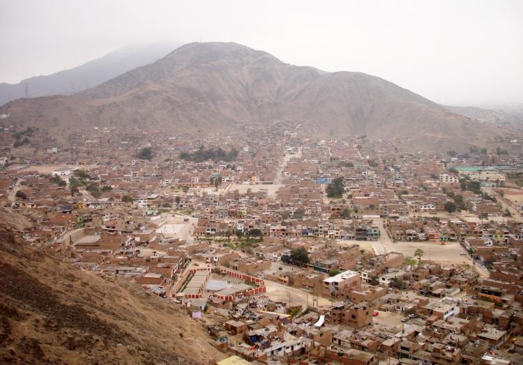 Blick über Lima, über dts Nachrichtenagentur