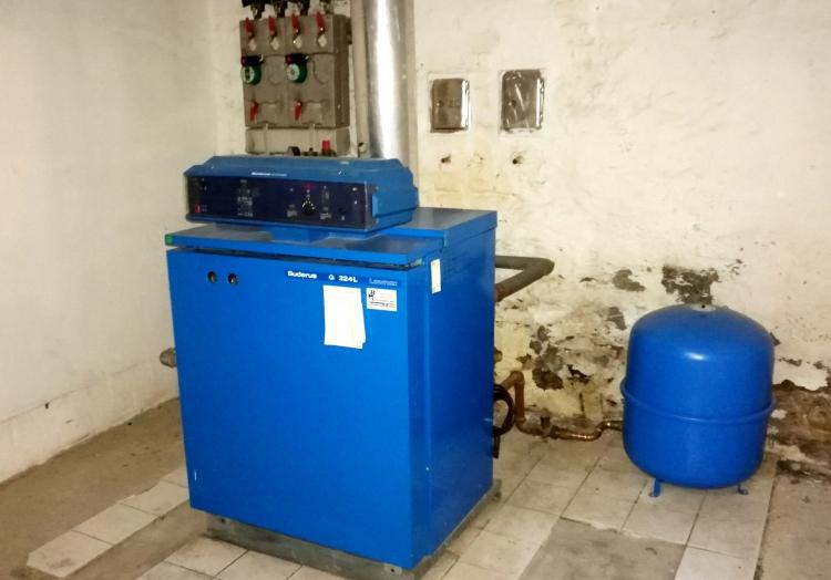 Gas-Heizung aus den 90ern, über dts Nachrichtenagentur