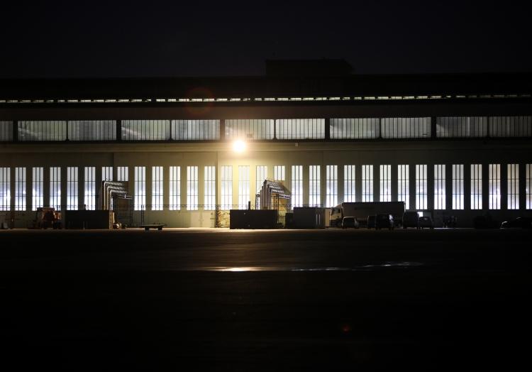 Impfzentrum im früheren Flughafen Berlin-Tempelhof, über dts Nachrichtenagentur