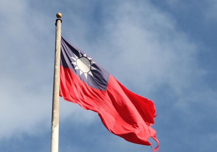 Taiwan-Flagge, über dts Nachrichtenagentur
