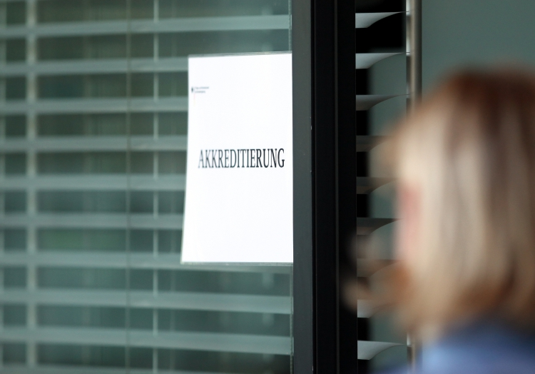 Akkreditierung, über dts Nachrichtenagentur