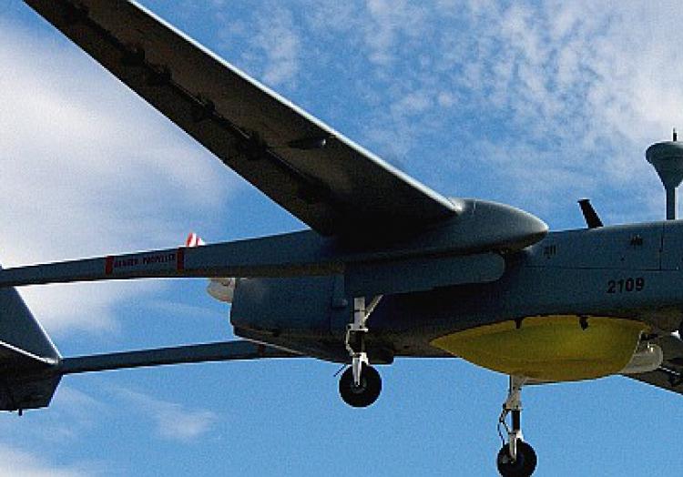 Drohne des Typs ´Heron 1´, über dts Nachrichtenagentur