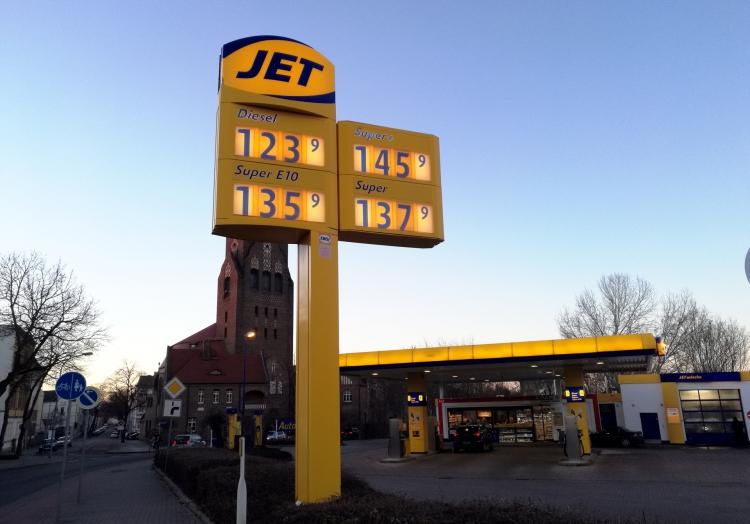 Jet-Tankstelle, über dts Nachrichtenagentur