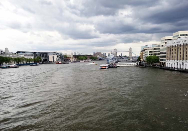 Blick von der London Bridge zur Tower Bridge, über dts Nachrichtenagentur