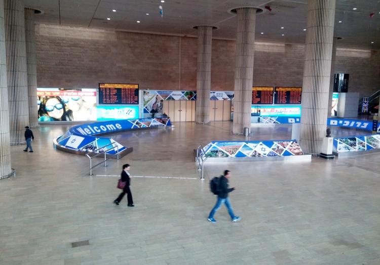 Flughafen Ben Gurion, über dts Nachrichtenagentur