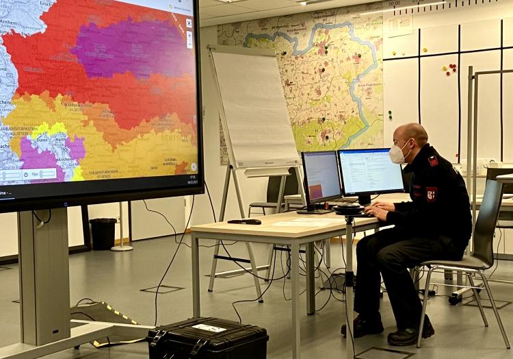 Rettungszentrum des Kreises Soest am 06.02.2020, Feuerwehr Kreis Soest,  Text: über dts Nachrichtenagentur