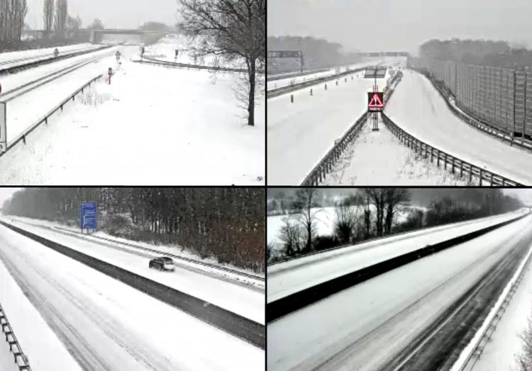 Autobahnen in NRW am 07.02.2021, über dts Nachrichtenagentur