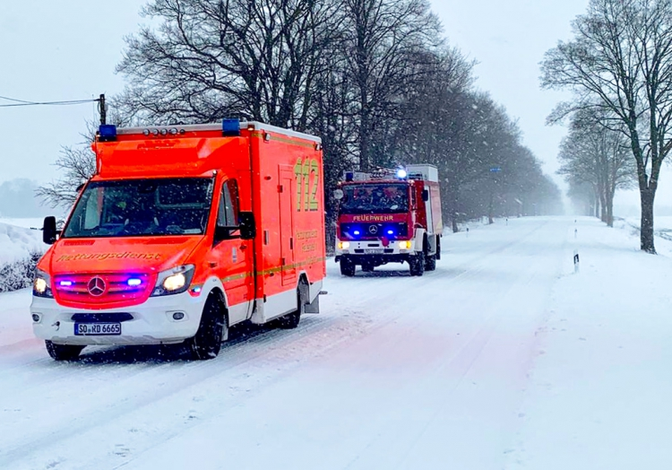Einsatz im Kreis Soest, Feuerwehr Lippetal,  Text: über dts Nachrichtenagentur