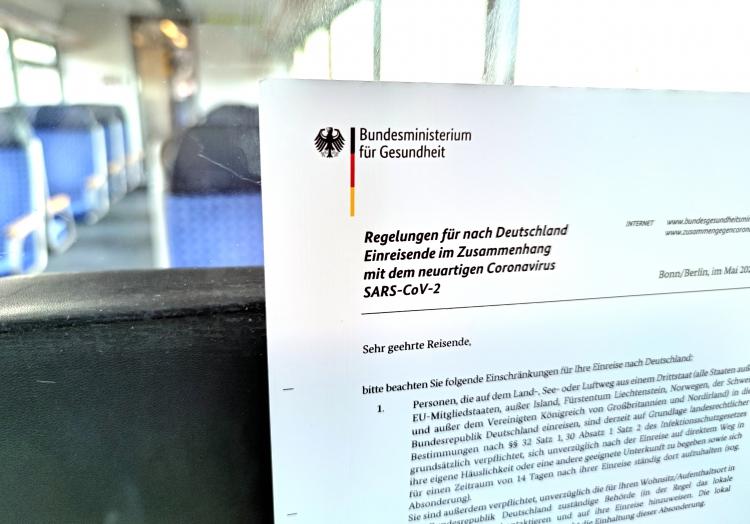 Einreiseverordnung, über dts Nachrichtenagentur