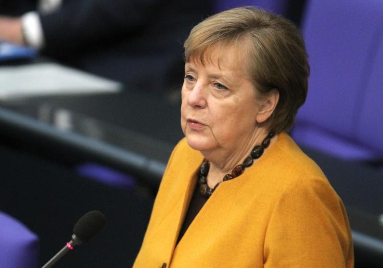 Angela Merkel am 24.03.2021 im Bundestag, über dts Nachrichtenagentur