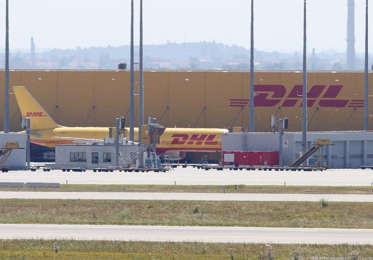 DHL-Maschinen am Flughafen Leipzig/Halle, über dts Nachrichtenagentur