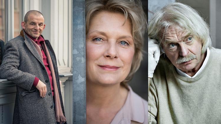 Dominique Horwitz, Janette Rauch und Axel Petermann.