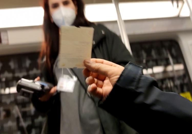 Fahrkartenkontrolle, über dts Nachrichtenagentur