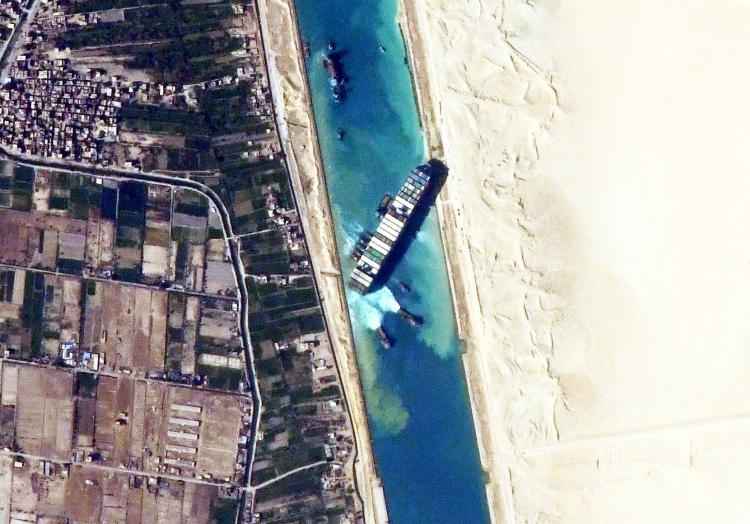´Ever Given´ im Suezkanal, über dts Nachrichtenagentur