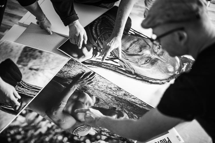 """Mit der Aktion """"Phototalk – Die Bildbesprechung"""" haben Fotografinnen und Fotografen die Möglichkeit ihre Aufnahmen professionell begutachten zu lassen."""