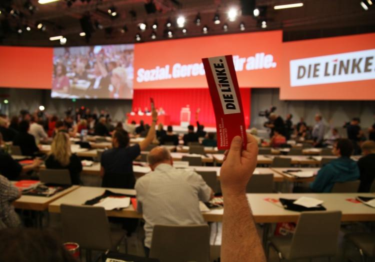 Linke-Parteitag, über dts Nachrichtenagentur