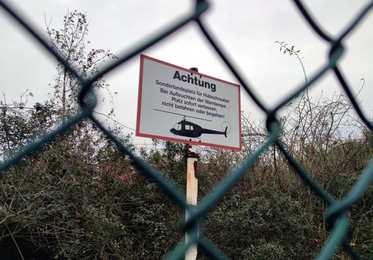 Hubschrauberlandeplatz, über dts Nachrichtenagentur