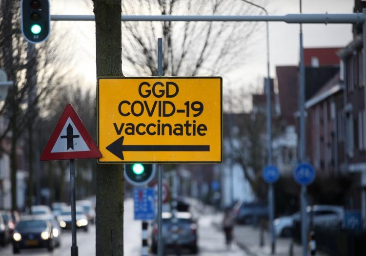 Corona-Impfzentrum in den Niederlanden, über dts Nachrichtenagentur