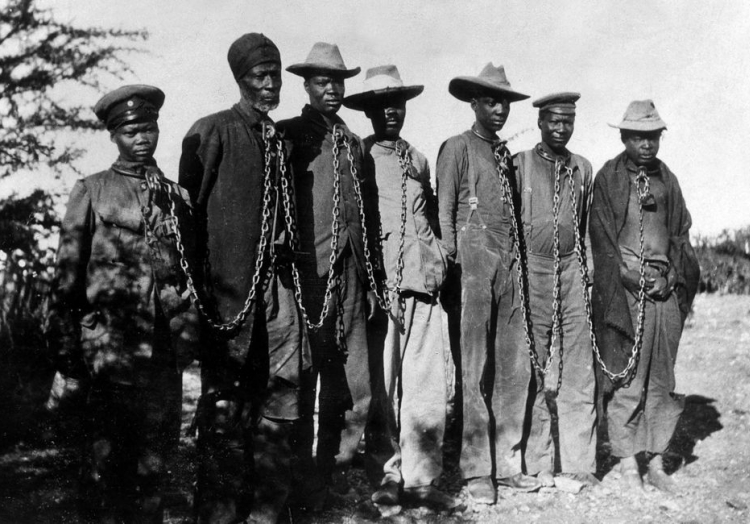 Gefangene Herero 1904, über dts Nachrichtenagentur