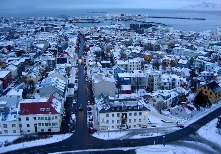 Reykjavik auf Island - das gehört auch zum Arktischen Rat, über dts Nachrichtenagentur