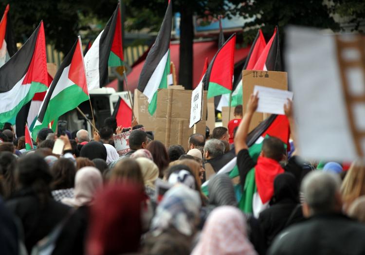 Palästinenser-Demo in Berlin, über dts Nachrichtenagentur
