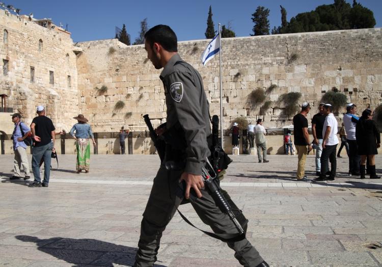 Israelischer Soldat vor der Klagemauer (Tempelberg), über dts Nachrichtenagentur