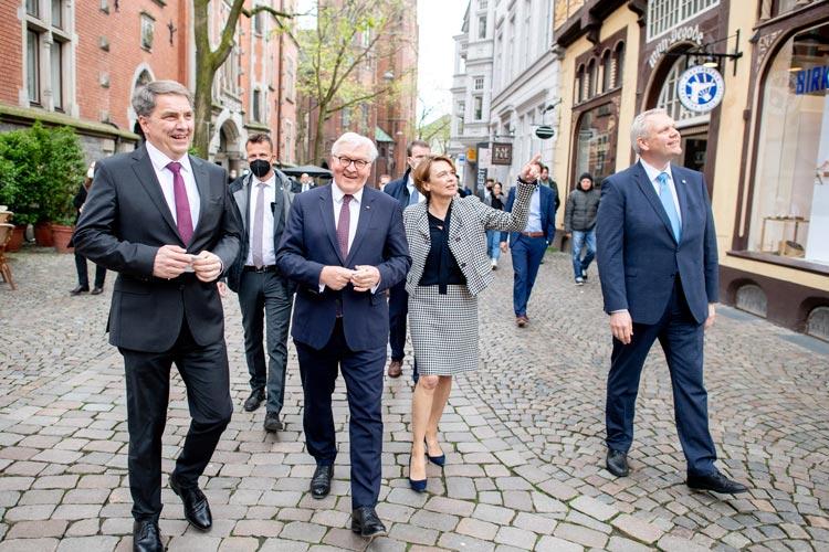 Bundespräsident Dr. Frank-Walter Steinmeier hat gestern Oldenburg besucht. Anlass war der Festakt