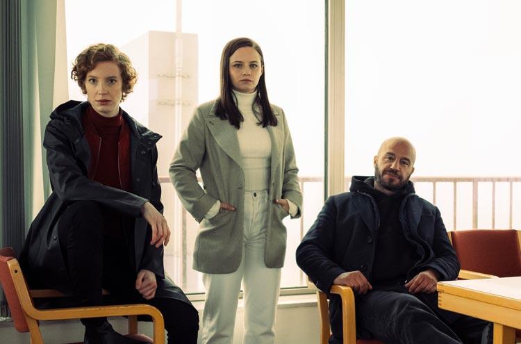 Luise Wolfram, Jana Fritzi Bauer und Dar Salim.