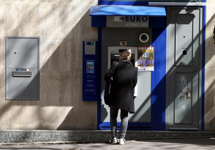 Geldautomat in Frankreich, über dts Nachrichtenagentur