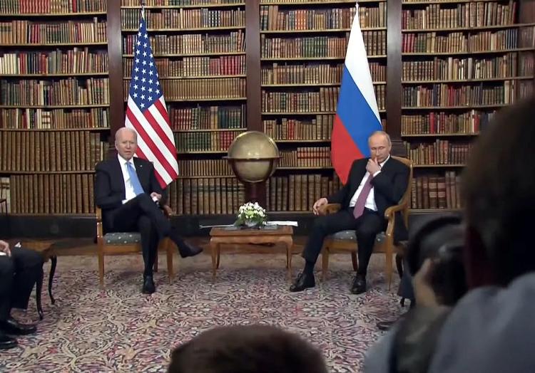 Joe Biden und Wladimir Putin am 16.06.2021, über dts Nachrichtenagentur