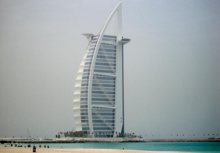 Hotel Burj al-Arab in Dubai, über dts Nachrichtenagentur