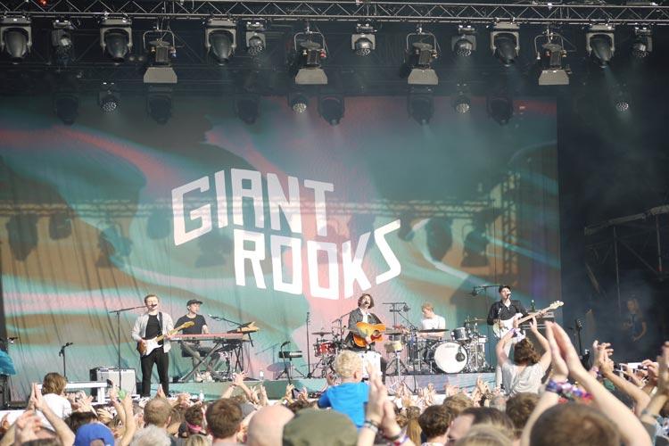 """""""Giants Rooks"""" sind wieder zu Gast in Dangast. Die Band spielt am Freitag auf dem Watt en Schlick Fest."""